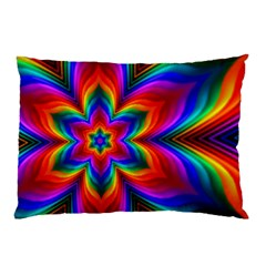 Rainbow Flower Pillow Cases