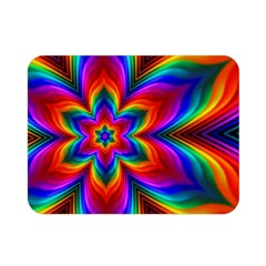 Rainbow Flower Double Sided Flano Blanket (Mini)