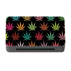 Cannabis Leaf Multi Col Pattern Memory Card Reader With Cf