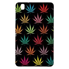 Cannabis Leaf Multi Col Pattern Samsung Galaxy Tab Pro 8.4 Hardshell Case
