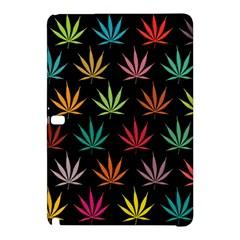 Cannabis Leaf Multi Col Pattern Samsung Galaxy Tab Pro 12.2 Hardshell Case