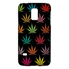 Cannabis Leaf Multi Col Pattern Galaxy S5 Mini