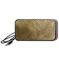 Brushed Gold 050549 Portable Speaker (Black)
