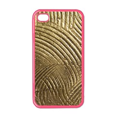 Brushed Gold 050549 Apple Iphone 4 Case (color)