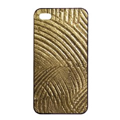 Brushed Gold 050549 Apple iPhone 4/4s Seamless Case (Black)