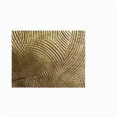 Brushed Gold 050549 Small Garden Flag (two Sides)