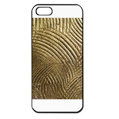 Brushed Gold 050549 Apple Iphone 5 Seamless Case (black)