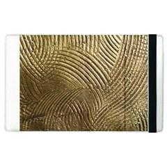 Brushed Gold 050549 Apple Ipad 2 Flip Case