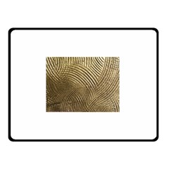 Brushed Gold 050549 Double Sided Fleece Blanket (Small)