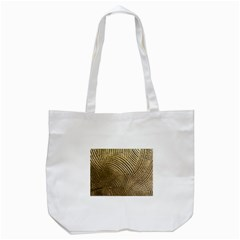 Brushed Gold 050549 Tote Bag (White)