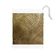 Brushed Gold 050549 Drawstring Pouches (Large)