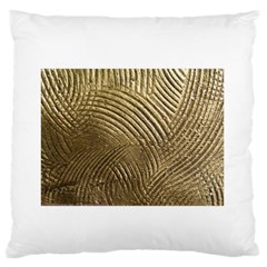 Brushed Gold 050549 Standard Flano Cushion Cases (One Side)