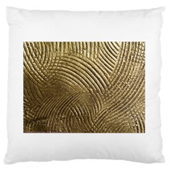 Brushed Gold 050549 Large Flano Cushion Cases (Two Sides)
