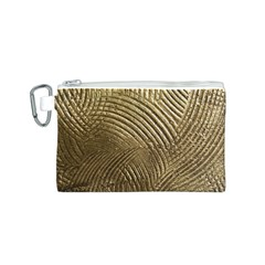 Brushed Gold 050549 Canvas Cosmetic Bag (S)