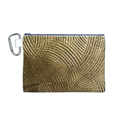 Brushed Gold 050549 Canvas Cosmetic Bag (M)