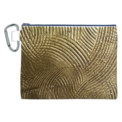 Brushed Gold 050549 Canvas Cosmetic Bag (xxl)