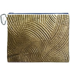 Brushed Gold 050549 Canvas Cosmetic Bag (XXXL)