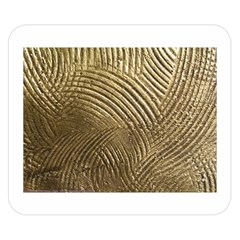 Brushed Gold 050549 Double Sided Flano Blanket (Small)