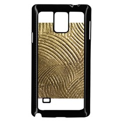 Brushed Gold 050549 Samsung Galaxy Note 4 Case (Black)