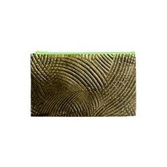 Brushed Gold 050549 Cosmetic Bag (XS)