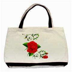 Rose Garden Basic Tote Bag (two Sides)