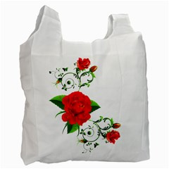 Rose Garden Recycle Bag (two Side)