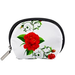 Rose Garden Accessory Pouches (small)