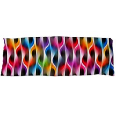 Rainbow Psychedelic Waves  Body Pillow Cases Dakimakura (two Sides)