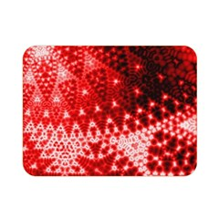 Red Fractal Lace Double Sided Flano Blanket (Mini)