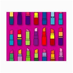 Lipsticks Pattern Collage 12  x 18