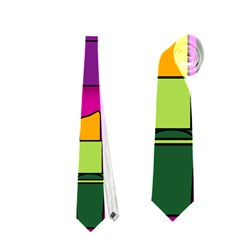 Lipsticks Pattern Neckties (one Side)