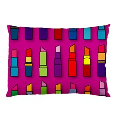 Lipsticks Pattern Pillow Cases (Two Sides)