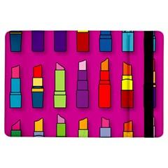 Lipsticks Pattern iPad Air Flip