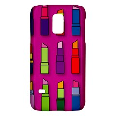 Lipsticks Pattern Galaxy S5 Mini