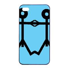 Love Men Icon Apple iPhone 4/4s Seamless Case (Black)