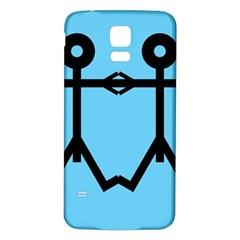 Love Men Icon Samsung Galaxy S5 Back Case (white)