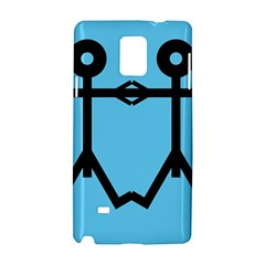 Love Men Icon Samsung Galaxy Note 4 Hardshell Case