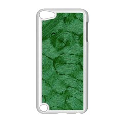 Woven Skin Green Apple Ipod Touch 5 Case (white)