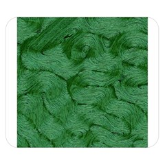 Woven Skin Green Double Sided Flano Blanket (Small)