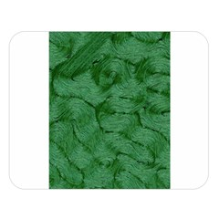 Woven Skin Green Double Sided Flano Blanket (large)