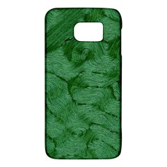 Woven Skin Green Galaxy S6