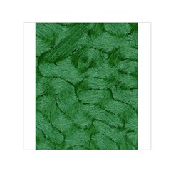 Woven Skin Green Small Satin Scarf (Square)