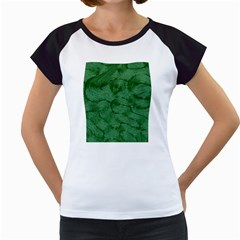 Woven Skin Green Women s Cap Sleeve T