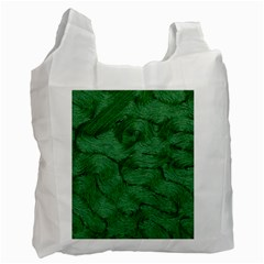 Woven Skin Green Recycle Bag (two Side)