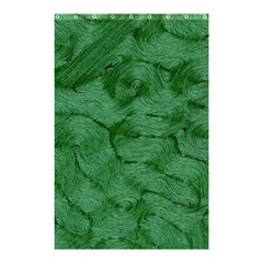 Woven Skin Green Shower Curtain 48  x 72  (Small)