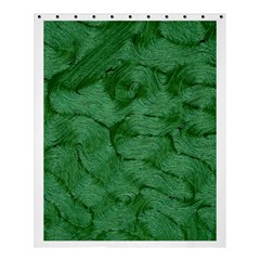 Woven Skin Green Shower Curtain 60  x 72  (Medium)