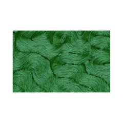 Woven Skin Green YOU ARE INVITED 3D Greeting Card (8x4)