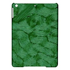 Woven Skin Green Ipad Air Hardshell Cases