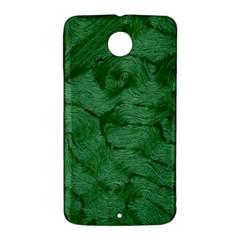 Woven Skin Green Nexus 6 Case (White)