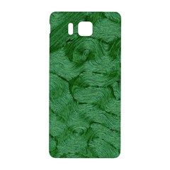 Woven Skin Green Samsung Galaxy Alpha Hardshell Back Case